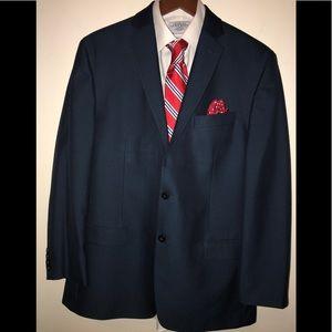 Blue Calvin Klein Full Suit